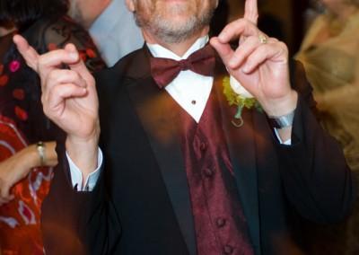 Dad Celebrating