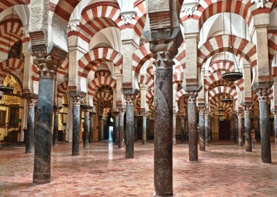 Cordoba Mosque Early Morning