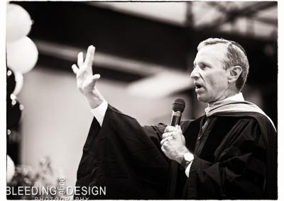 Speaking to the Graduates