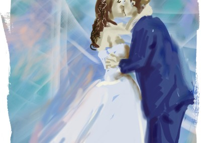 First Kiss Painting