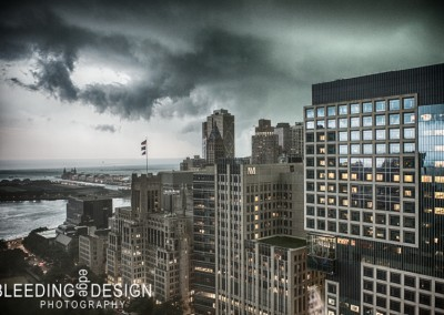 Storm Approaching the Loop