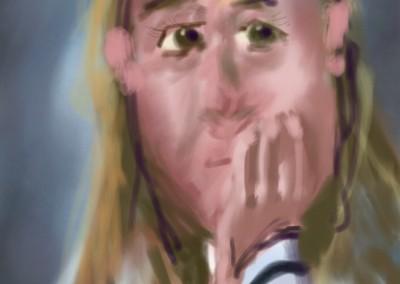Shira digital painting 34 X 40