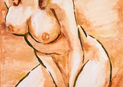 Manga Nude in Sepia (2014)