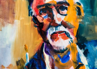 Self Portrait as Painter