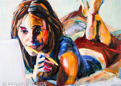 Acrylic Figurative Paintings