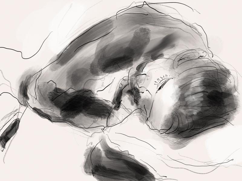 Shira Sleeping (again)