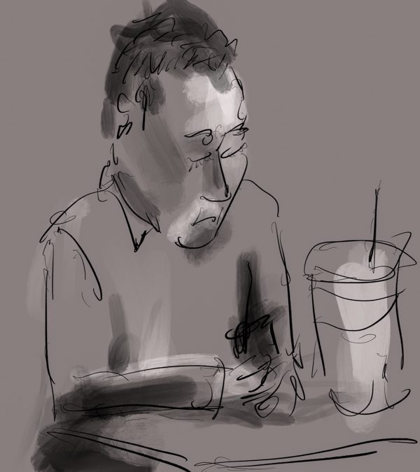 Another Guy with Phone
