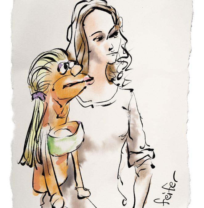 Christine & Puppet