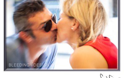 Strangers Kissing