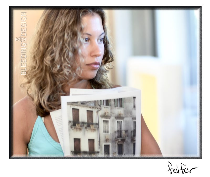 Girl with Booklet