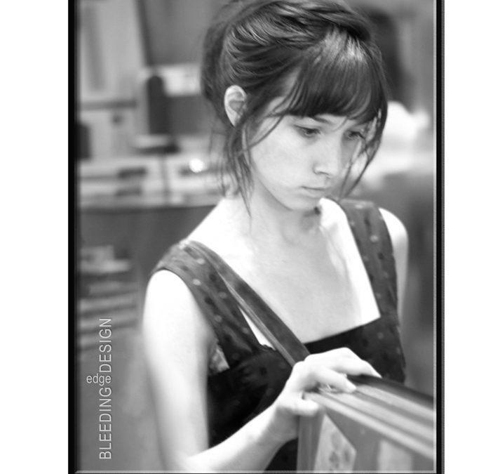 Girl in Gift Shop