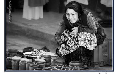 Women Selling Pots