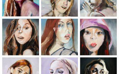 Pastel Portraits 2020